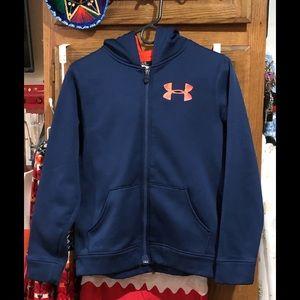 Under Armour zip up sweatshirt